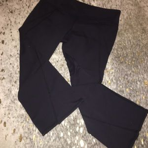 Athleta Flared Cropped Workout Pants
